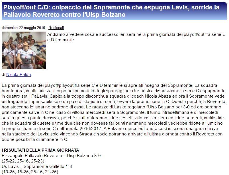 LAVIS-SOPRAMONTE 1-3